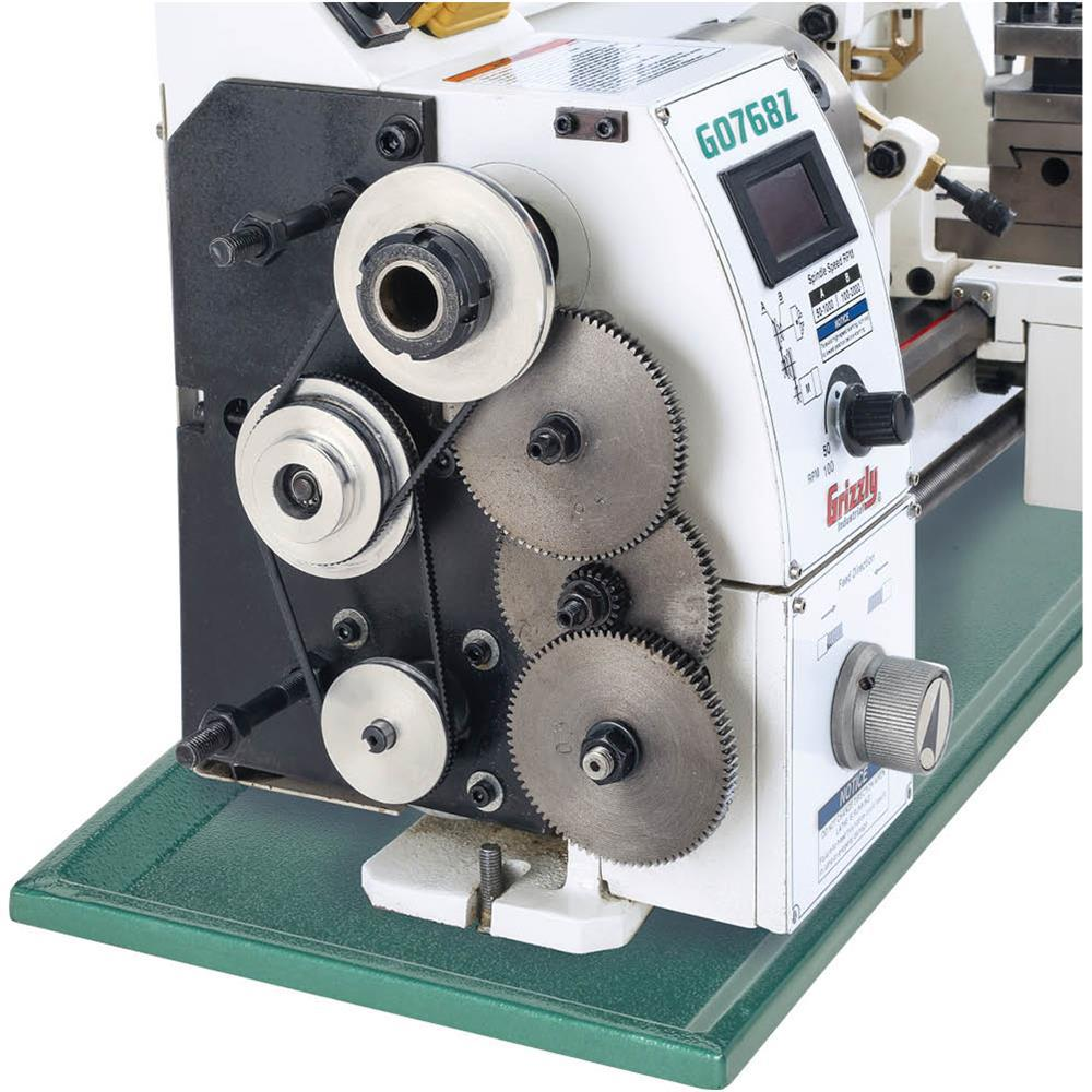 Superb Grizzly Industrial 8 In X 16 In Variable Speed Lathe With Dro Ncnpc Chair Design For Home Ncnpcorg