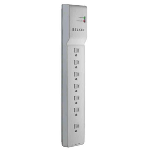 Belkin 7-Outlet Home//Office Surge Protector with 6 feet Cord