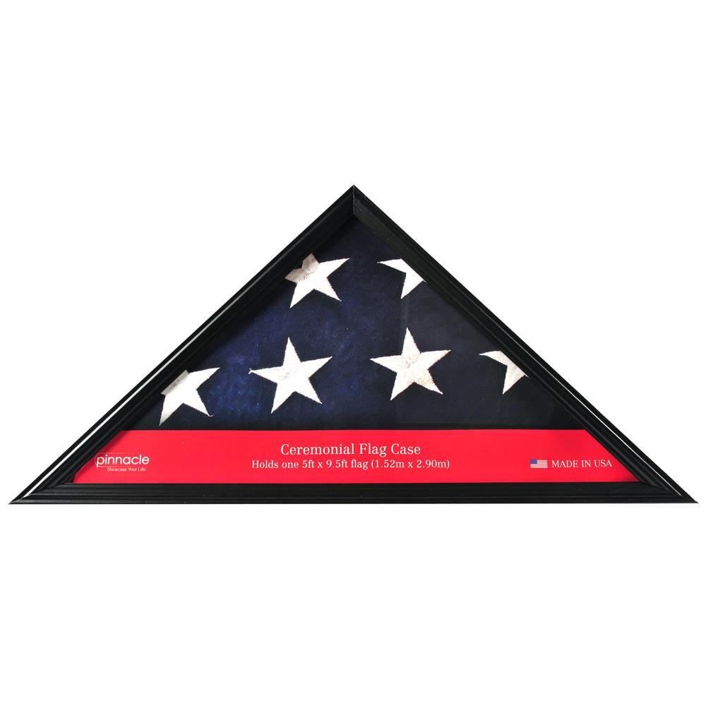 Pinnacle 5 in. x 9.5 in. Flag Display Case Frame-06FW284ME - The ...