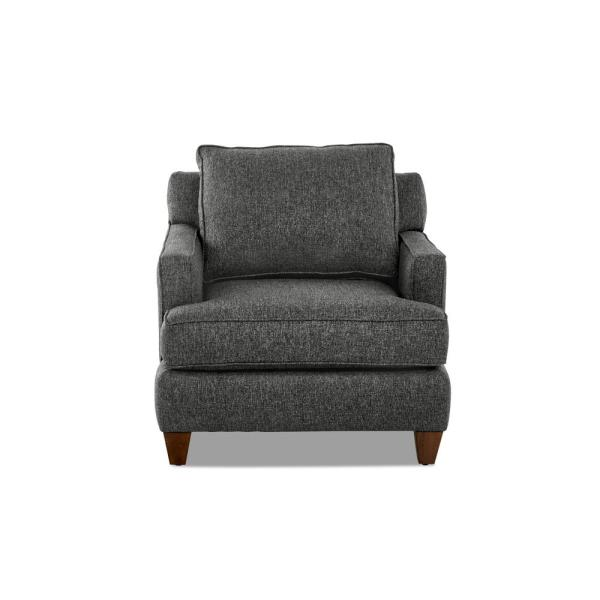 Avenue 405 Paxton Charcoal Accent Chair Avek29800ecanthchar The Home Depot
