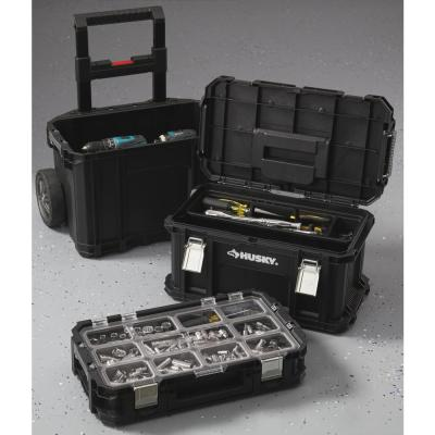 22 in. Connect Rolling System Plastic Tool Box