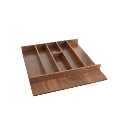 Short Walnut Utility Tray Insert