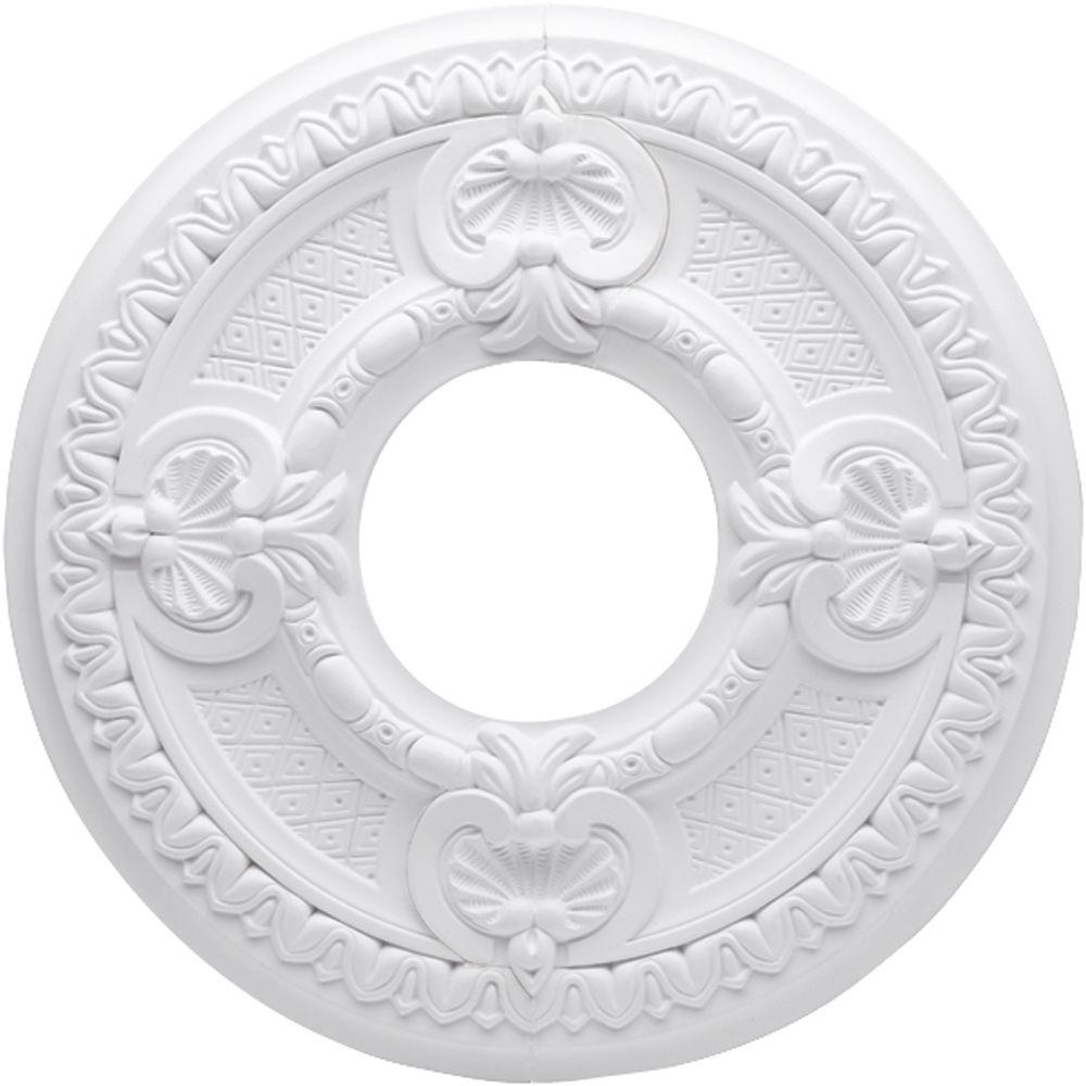 Westinghouse Ainsley 16 in. White Ceiling Medallion (2-Piece)