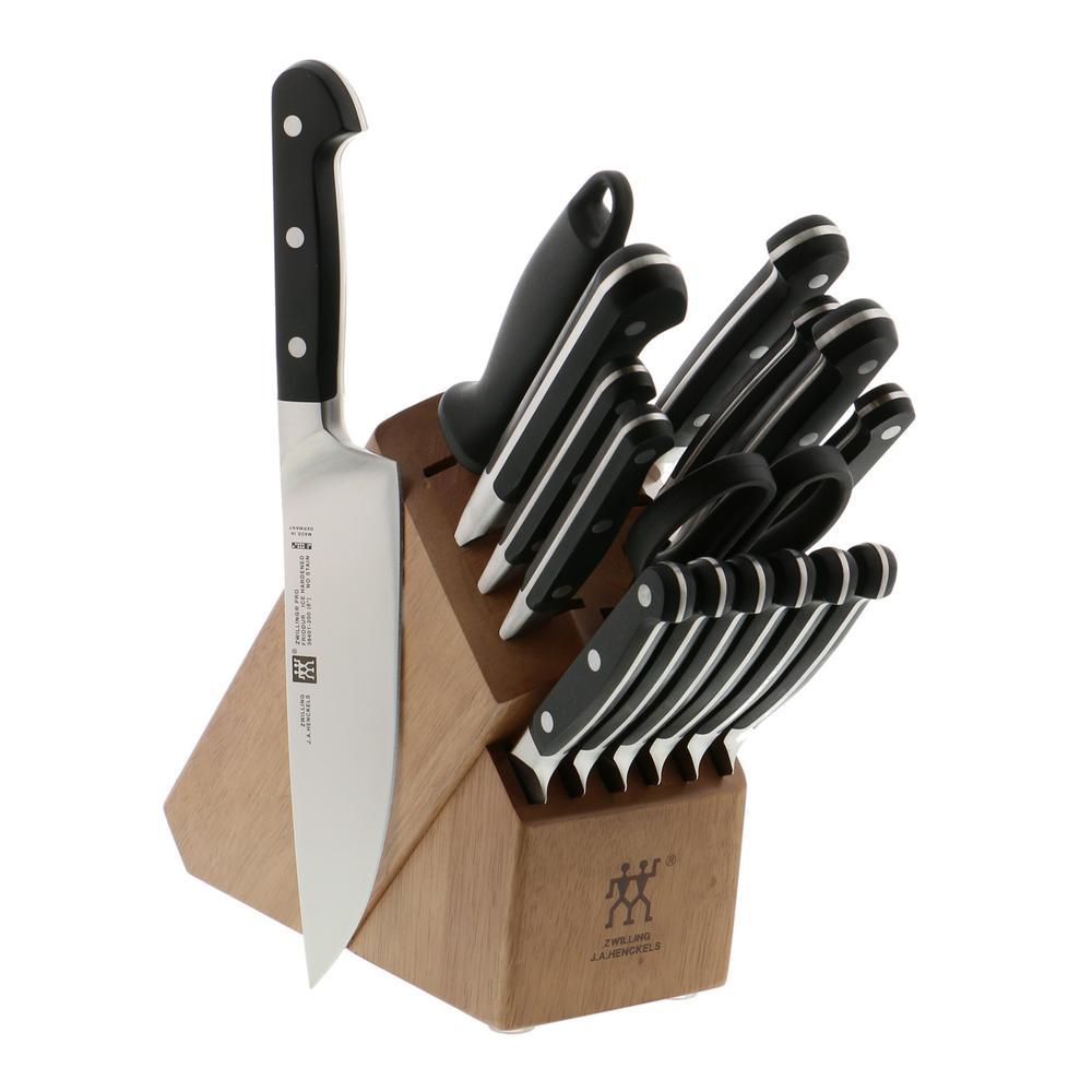 Zwilling J A Henckels Pro 17 Piece Knife Block Set 38442
