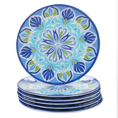 Morocco Multicolor Salad Plate (Set of 6)