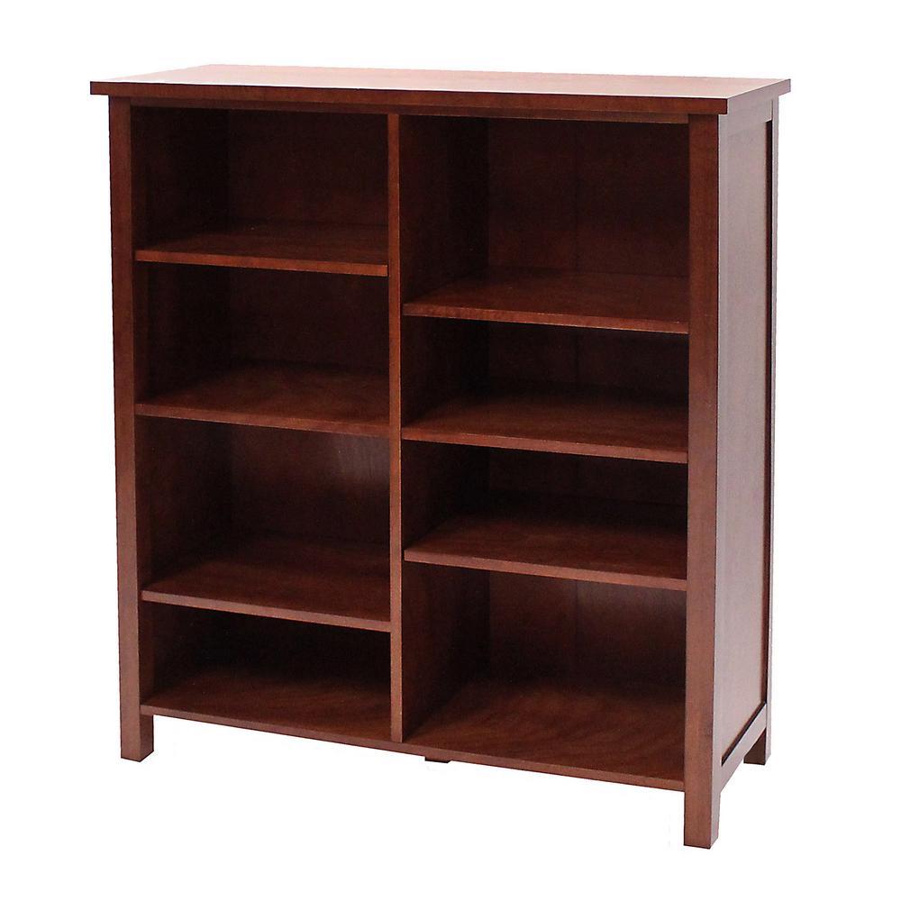 Oakdale Cherry Open Bookcase