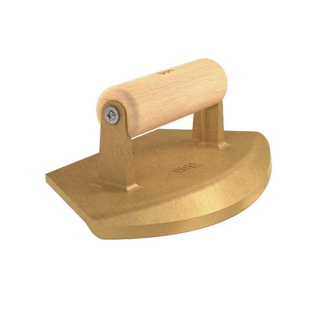 BON TOOL USA Corner Trowel Wooden Handle Stainless Steel 90°