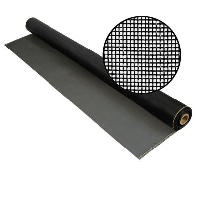 96 in. x 100 ft. Charcoal Fiberglass Screen 20 in. x 20 in. Mesh