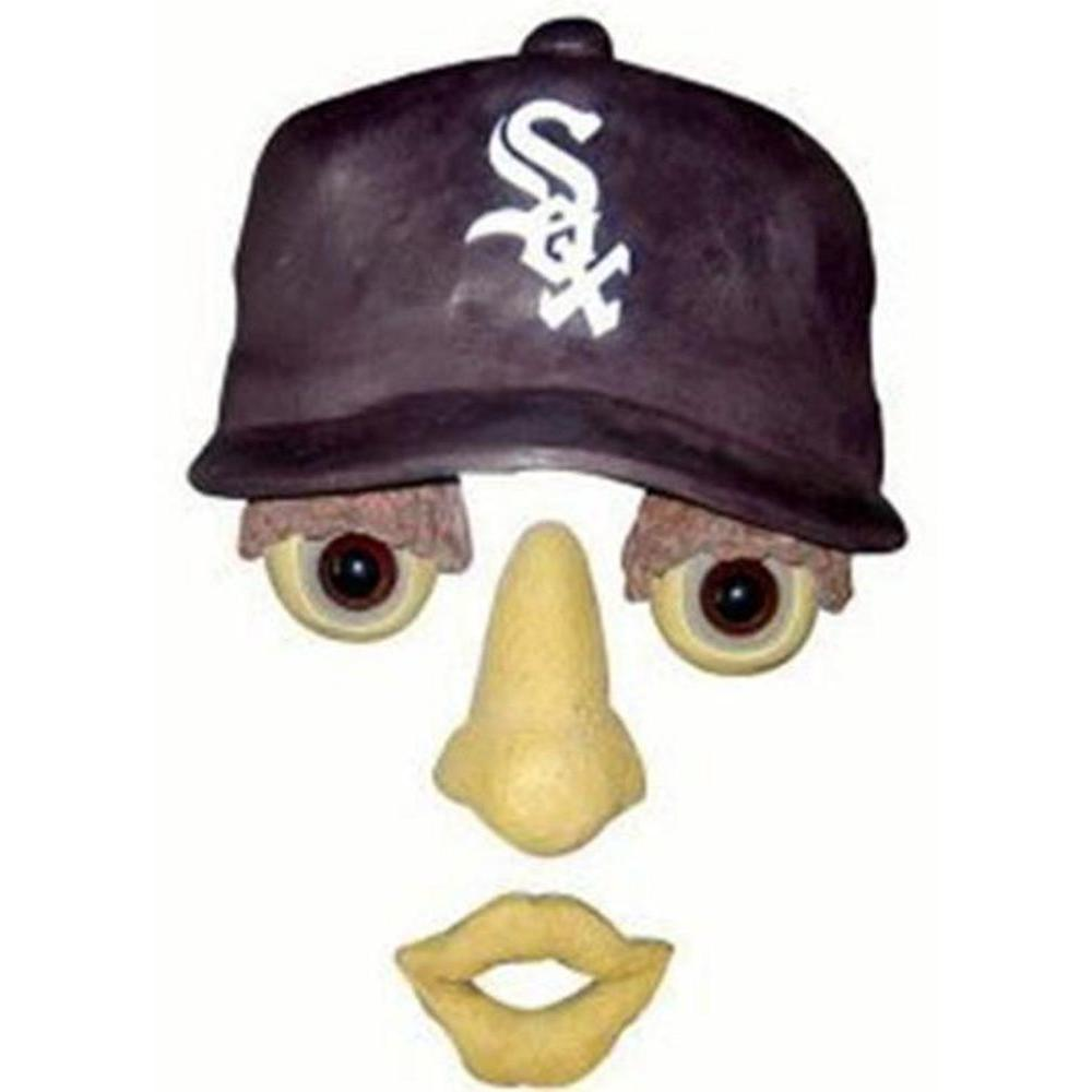 Team Sports America 14 in. x 7 in. Forest Face Chicago White Sox