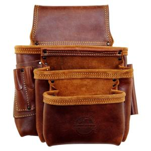 10-Pocket Framers Professional Tool Pouch with Ambassador Series Top Grain Leather