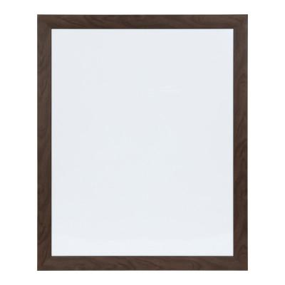 Beatrice Walnut Brown Rectangle Dry Erase Board Memo Board