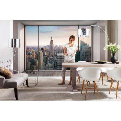 145 in. H x 98 in. W Penthouse Wall Mural