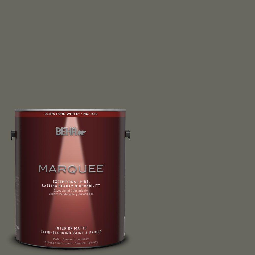 BEHR MARQUEE 1 gal. #MQ6-19 Naturalism One-Coat Hide Matte Interior Paint