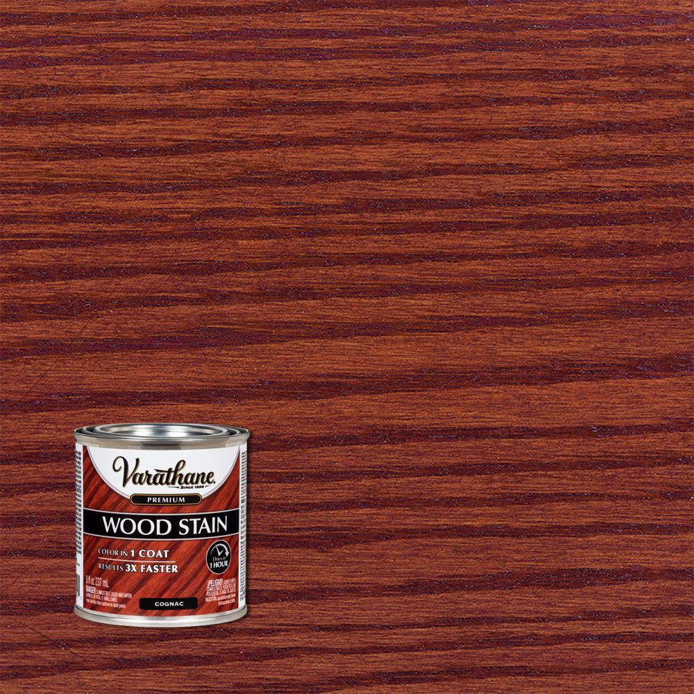 8 oz. Cognac Premium Fast Dry Interior Wood Stain