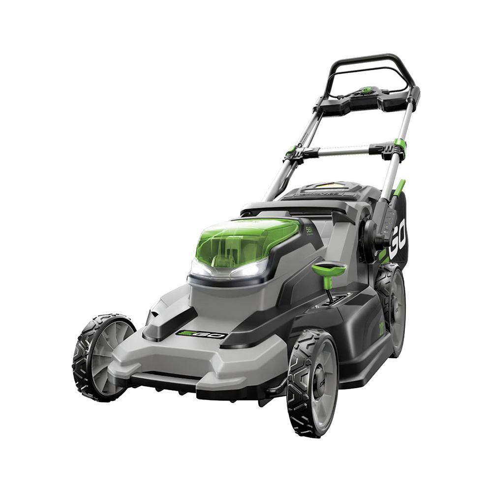 EGO EGO 20 in. 56 Volt Lithium ion Cordless Battery Walk Behind Push Mower - 5.0 Ah Battery/Charger Included