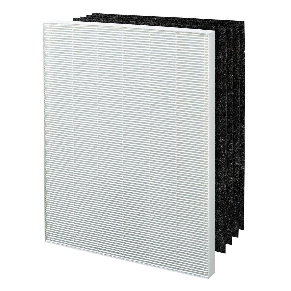 Winix 113250, True Hepa plus 4 Carbon Filters, Replacement Filter E, Whites