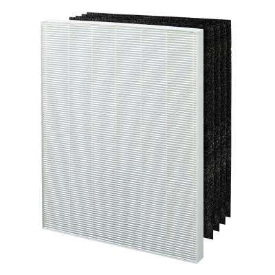 True HEPA plus 4 Carbon Filters, Replacement Filter E