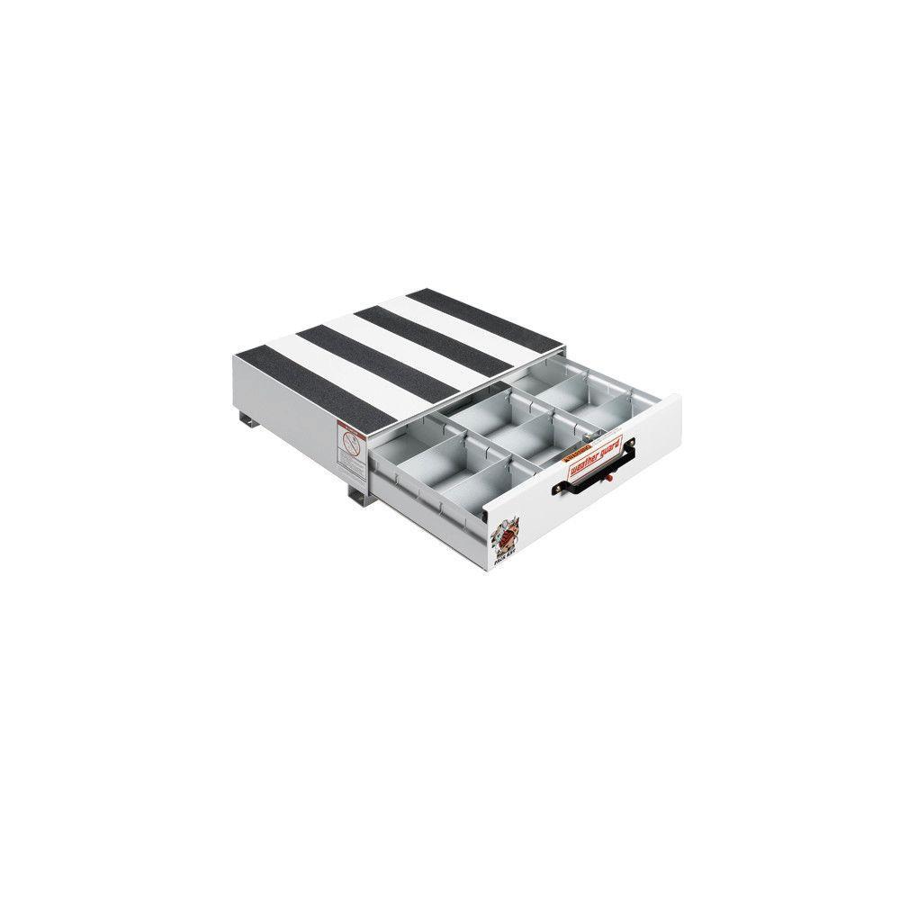 30 in. Steel Pack Rat Drawer Unit in Brite White