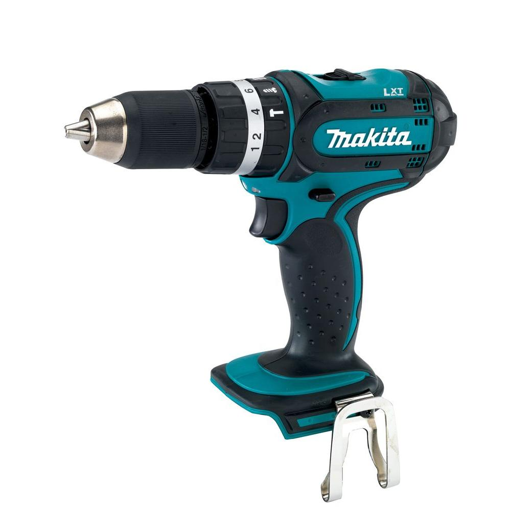Makita LXT 18-Volt Lithium-Ion 1/2 in. Hammer Driver-Drill (Tool Only)