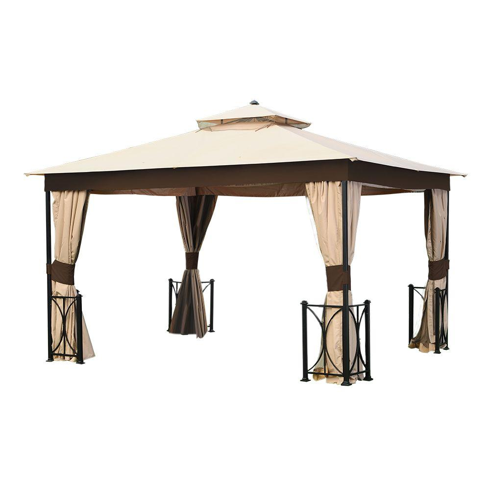 12 ft. x 10 ft. Belcourt Gazebo