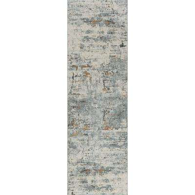 Venice Gray 2 ft. 6 in. x 10 ft. Runner Rug