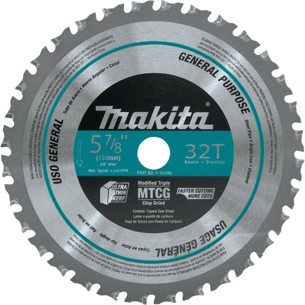 Makita 5 7 8 In 32 Teeth Metal General Purpose Carbide
