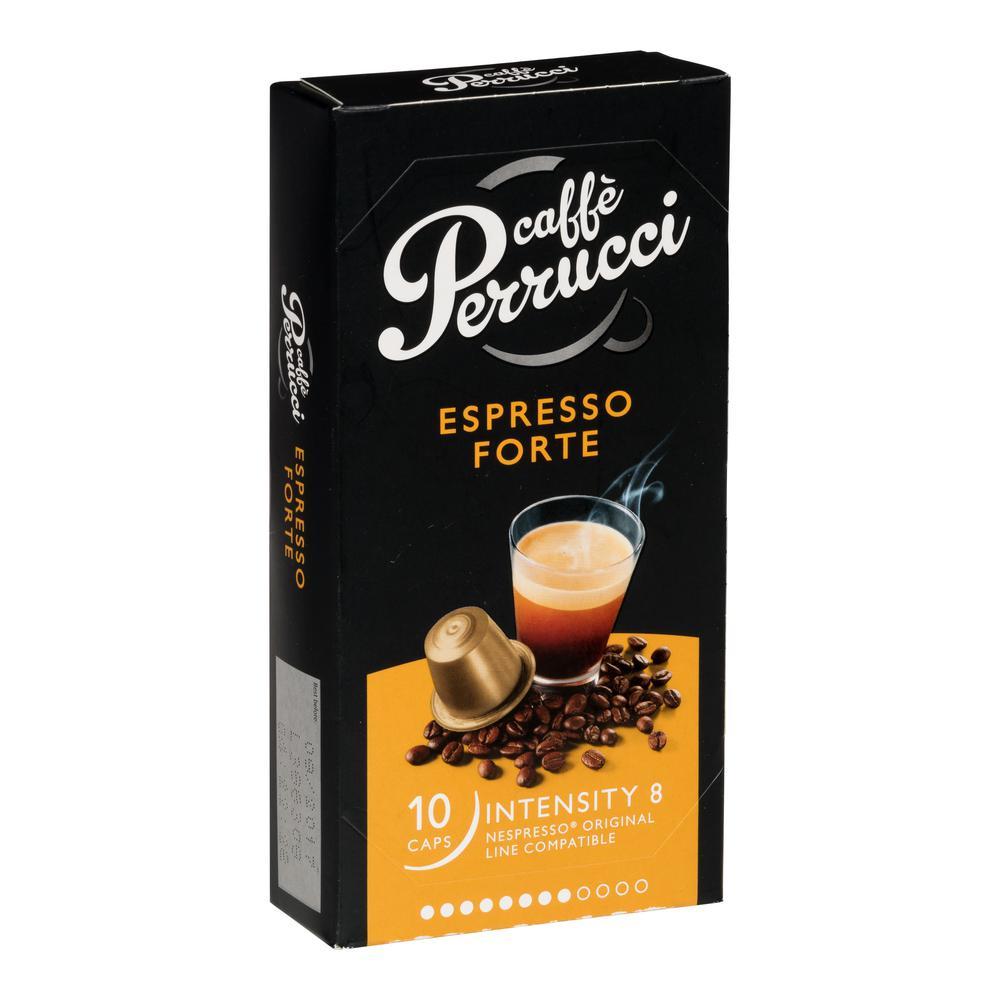 Espresso Forte Caffeinated Coffee Capsules 12-10'S