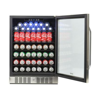 NewAir ABR-1770 177 Can Deluxe Beverage Cooler (Stainless Steel)