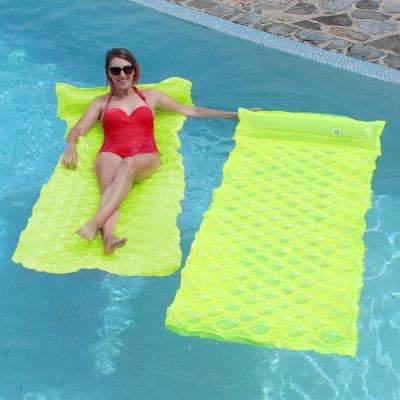 Smart Float Yellow Pool Float (2-Pack)