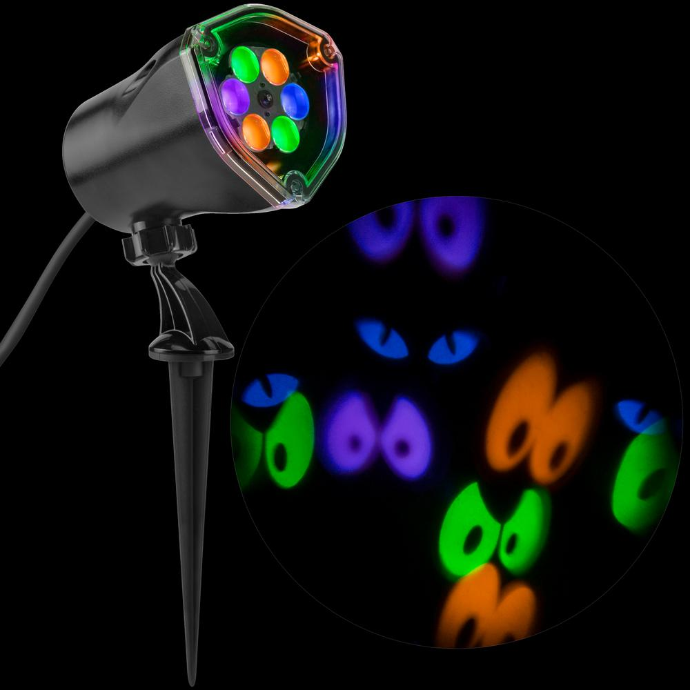 Gemmy Lightshow Projection Whirl-a-Motion Eyes Spot Light