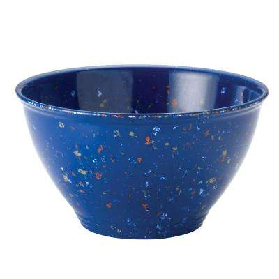 Garbage Bowl with Rubber Base in Blue