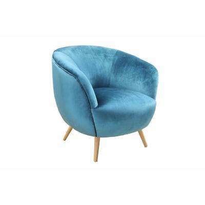 Aisling Teal Accent Chair