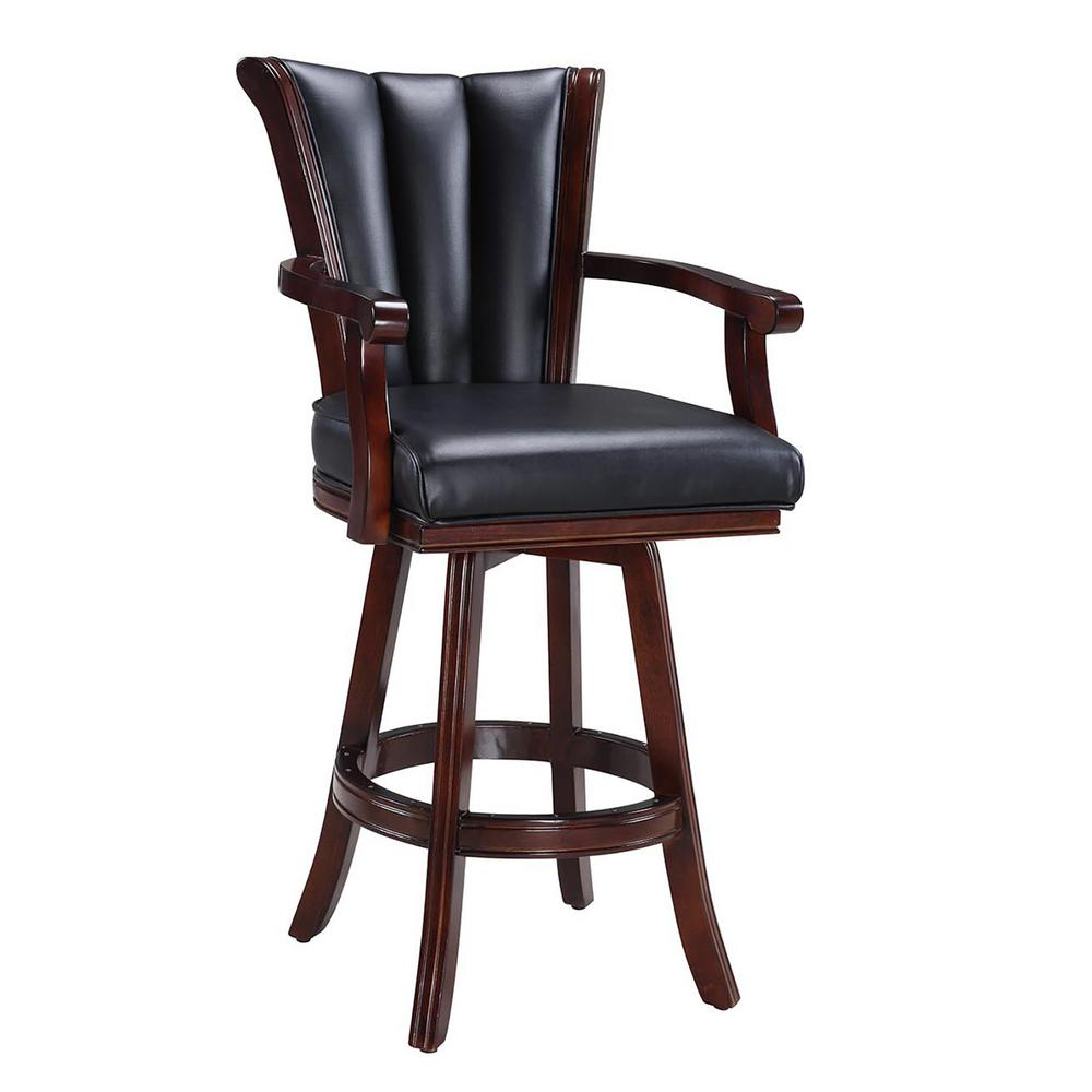 Hathaway Avondale 32 In Swivel Bar Stool Bg2815 The Home Depot