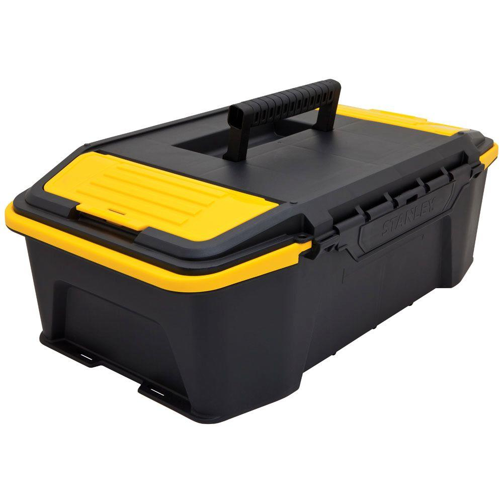 Click 'N Connect 20 in. Deep 1-Touch Latch Tool Box with