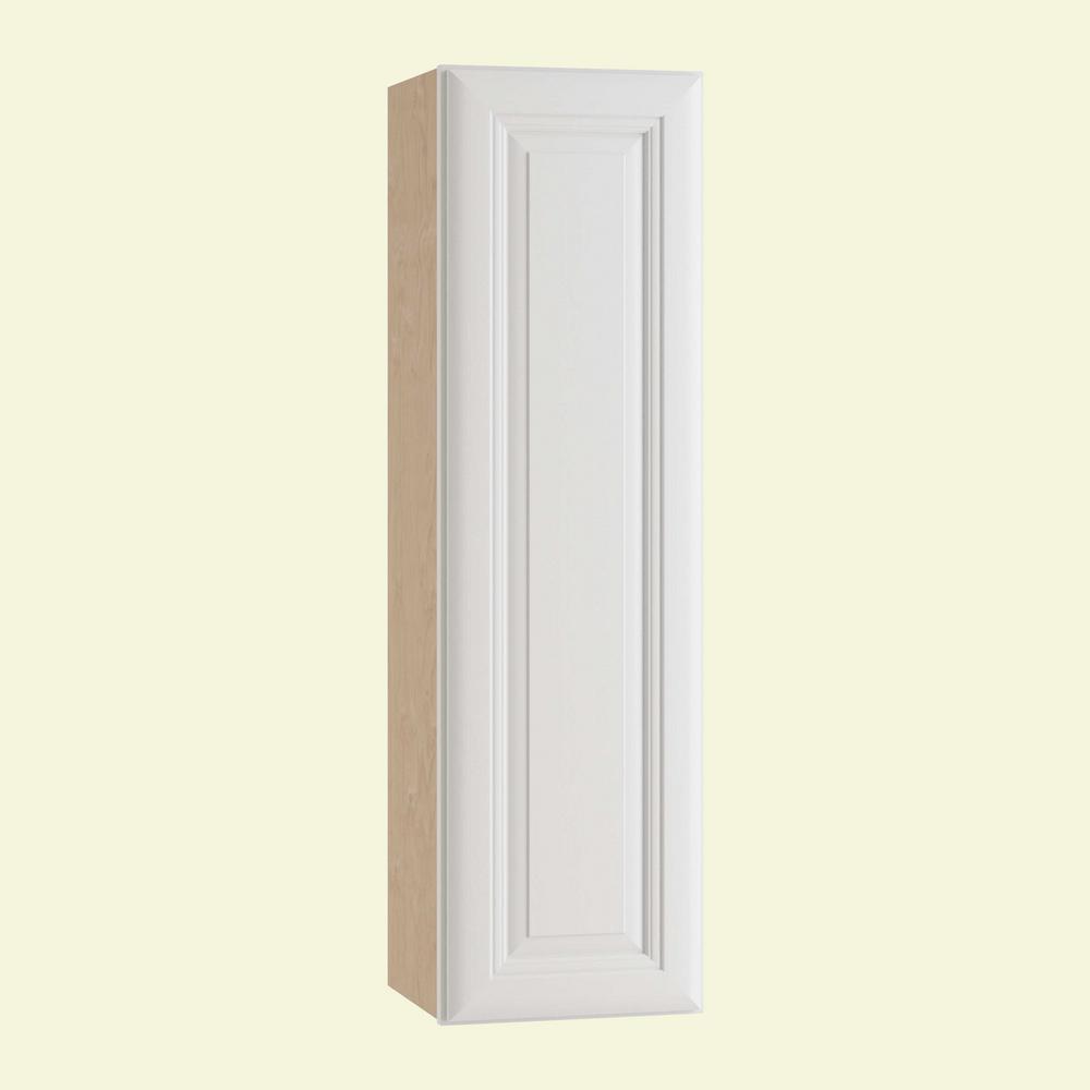 Brookfield Assembled 15x42x12 in. Single Door Hinge Left Wall Kitchen Cabinet