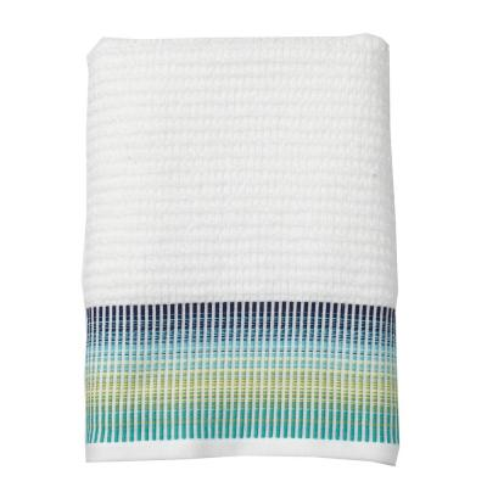 Ripple Cotton Fingertip Towel (Set of 2)