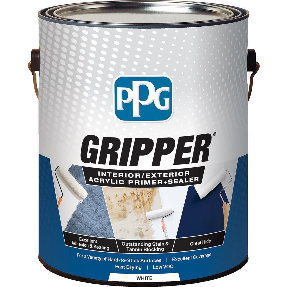 Glidden Gripper 1 Gal Gripper White Primer Sealer Gpg 0000 01 The Home Depot