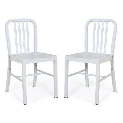 Westford Dining Chair in White (Set of 2)