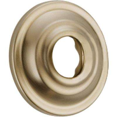 2-3/8 in. Cassidy Shower Arm Flange in Champagne Bronze