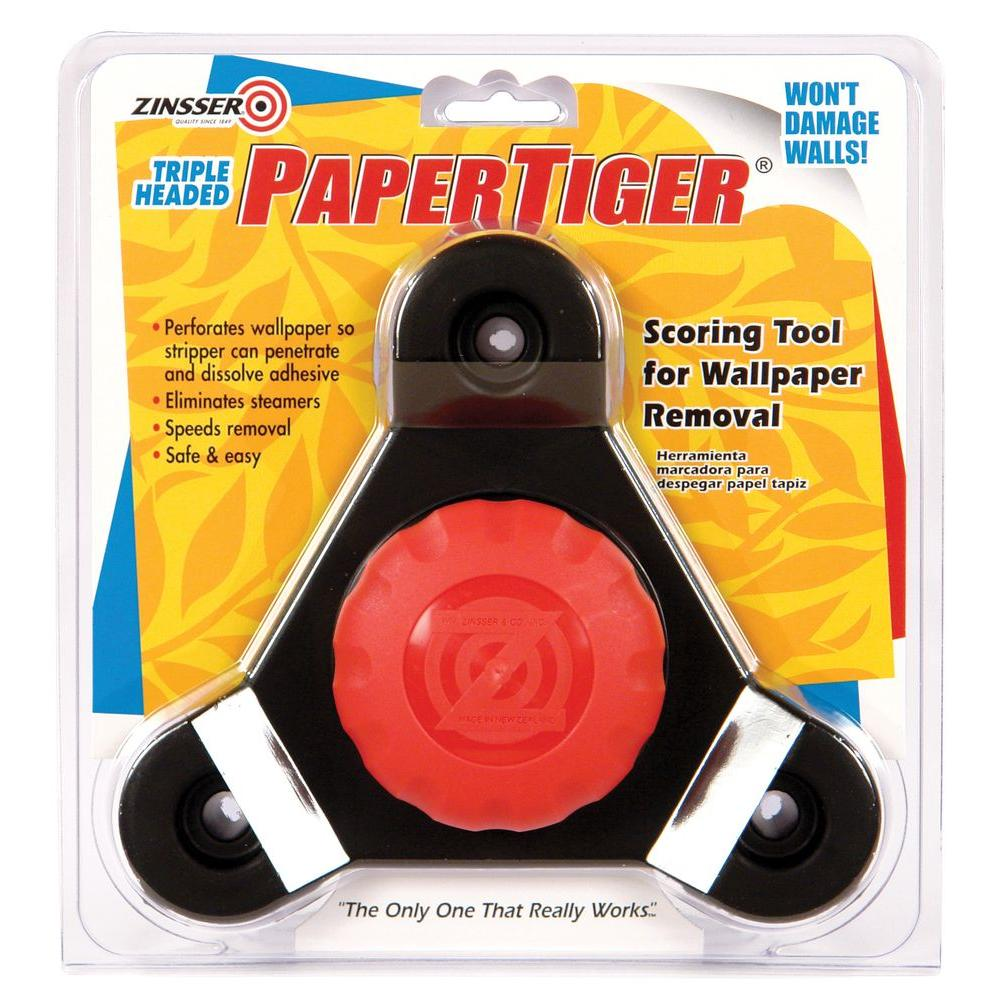 Zinsser Paper Tiger Triple Head Scoring Tool (Case of 3)