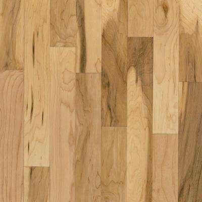 American Originals Country Natural Maple 3/8 in. T x 3 in. W x Varied L Engineered Click Hardwood Floor(22 sq. ft./case)
