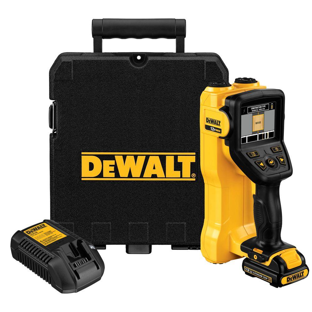 DEWALT 12-Volt MAX Lithium-Ion Cordless Wall Scanner with Battery 1.5Ah, 1-Hour Charger and Case