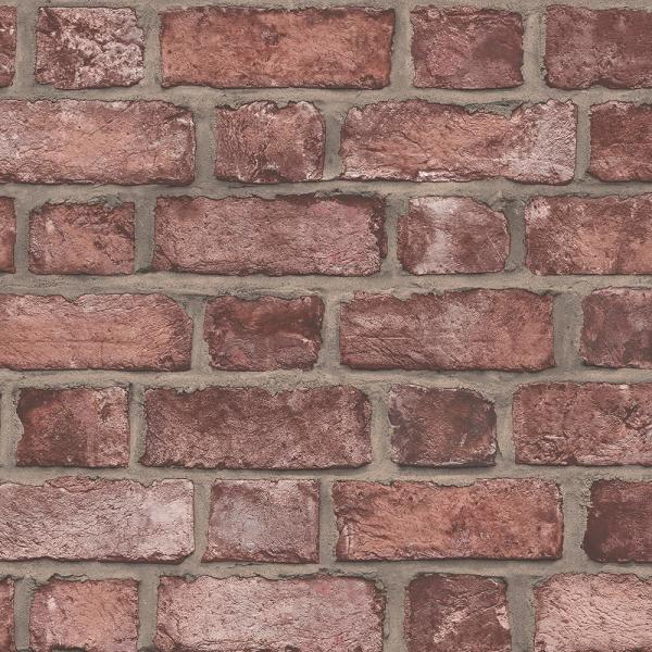 Norwall Farmhouse Brick Wallpaper