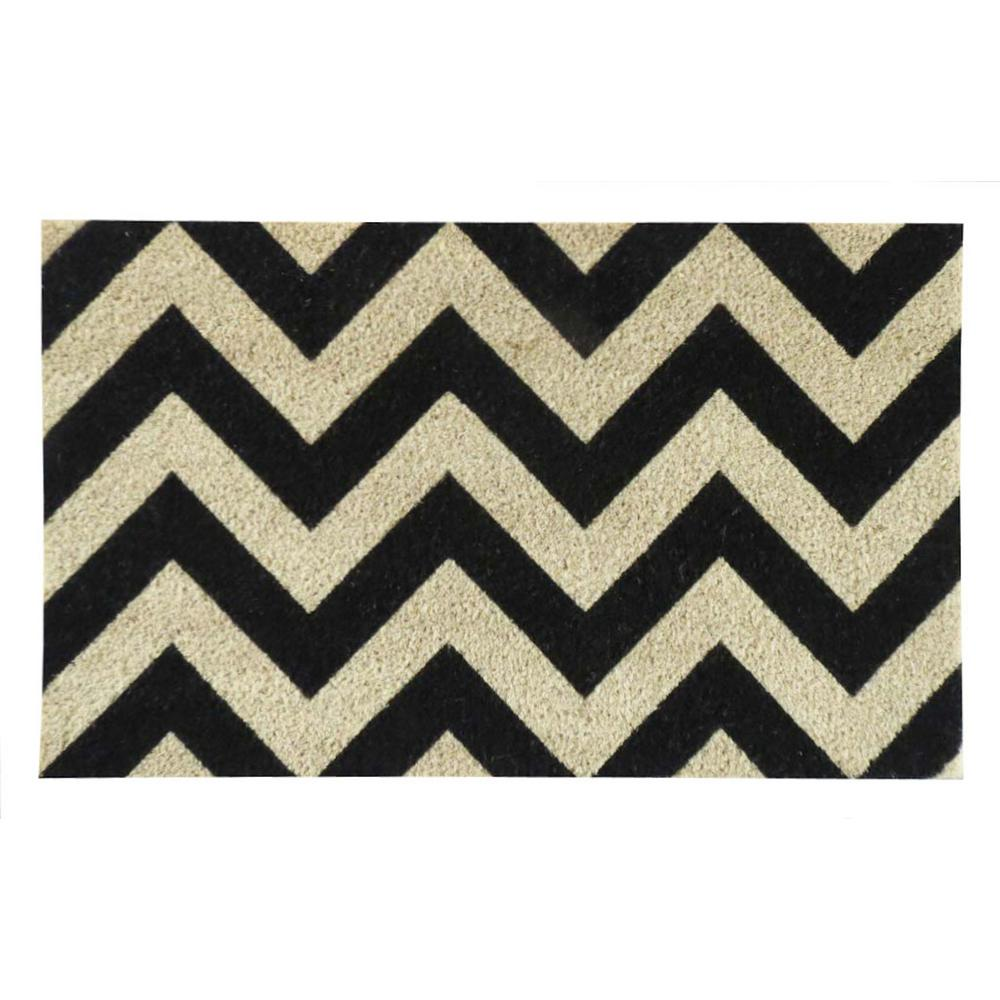 A1HC First Impression Chevron Pattern Printed 18 in. x 30 in.