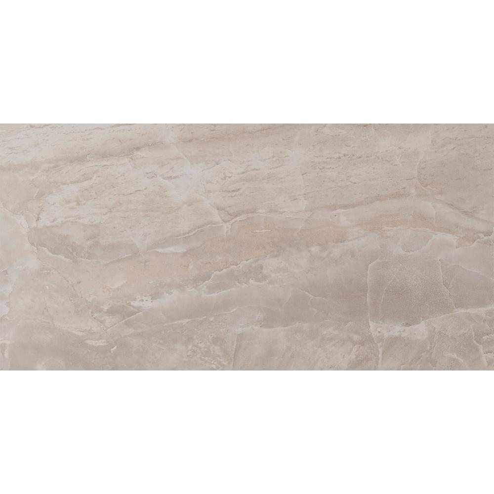 Msi Onyx Grigio 12 In X 24 Glazed Porcelain Floor And Wall Tile 16 Sq Ft Case Nonyxpea1224 The Home Depot