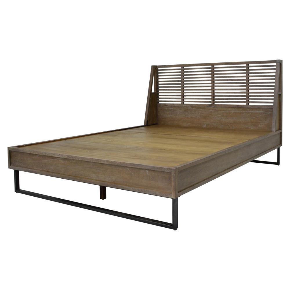 Avant Brown Queen Bed