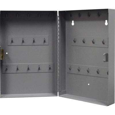 0.21 cu. ft. All-Steel Hook Design Key Cabinet in Gray