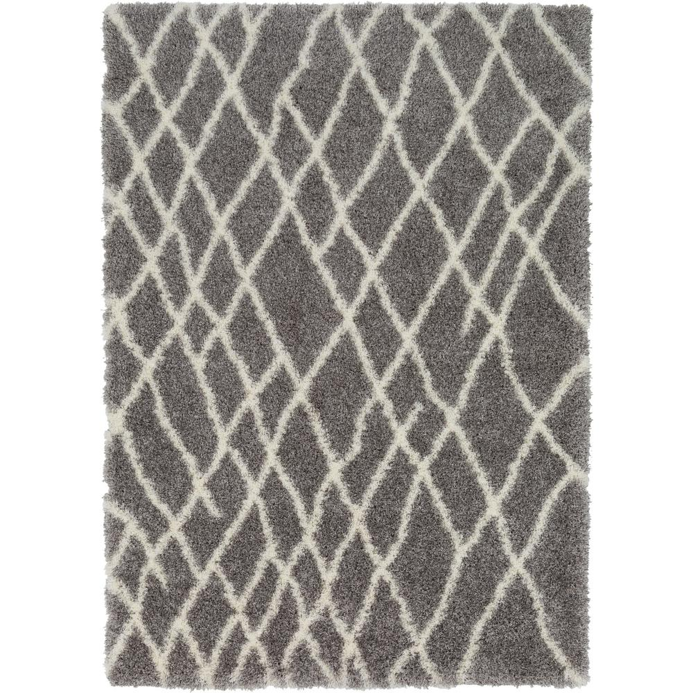 Katja Gray 7 ft. x 10 ft. Indoor Area Rug