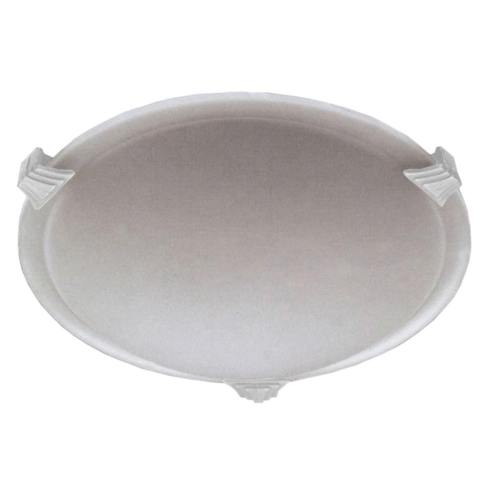 Contemporary Beauty 1-Light Polished Chrome Halogen Flush Mount
