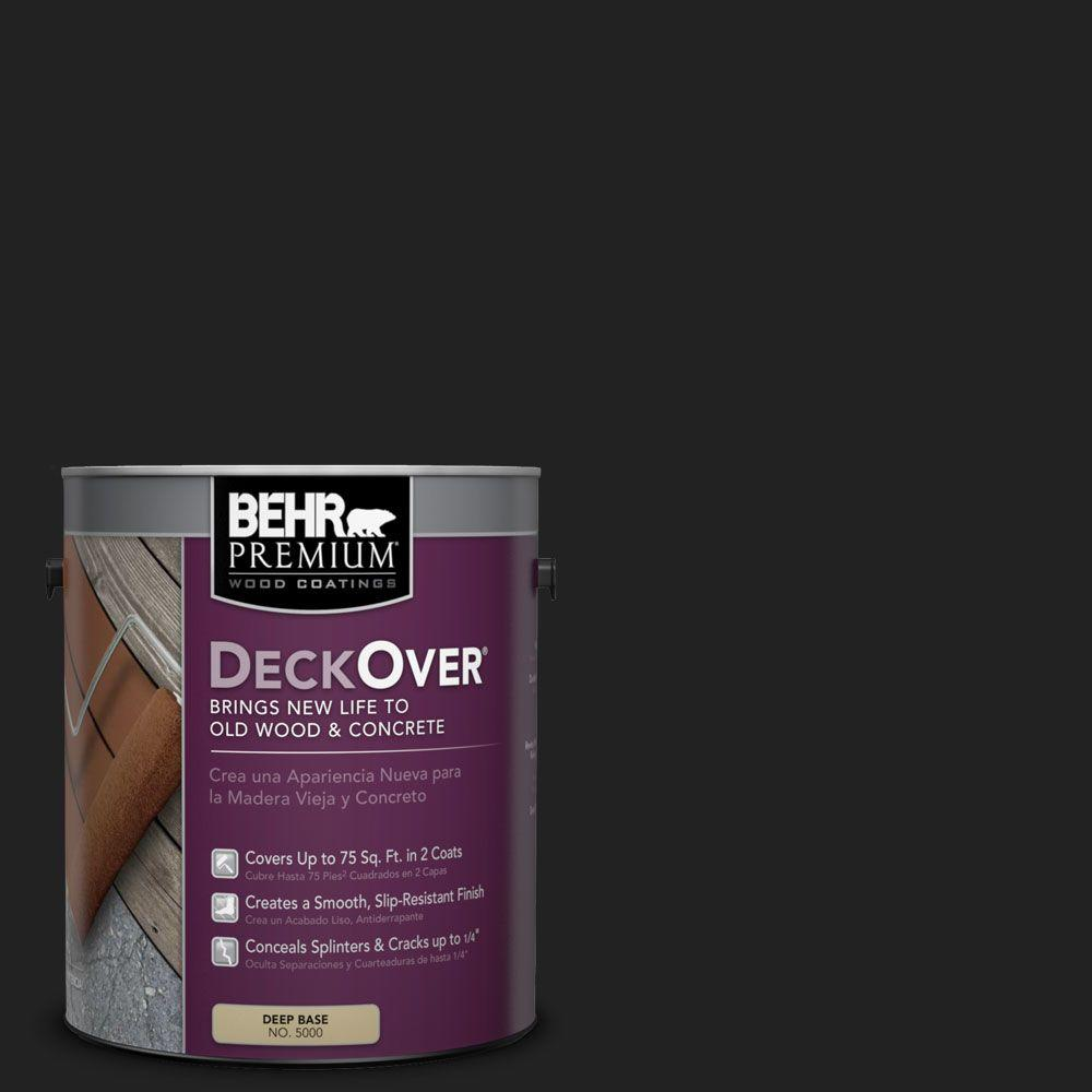 BEHR Premium DeckOver 1 gal. #SC-102 Slate Wood and Concrete Coating